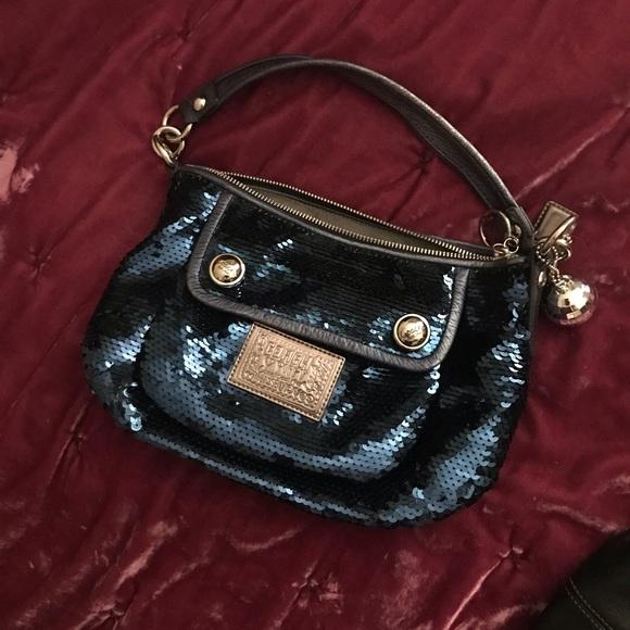 Coach Handbags - ✨Coach sequin purse
